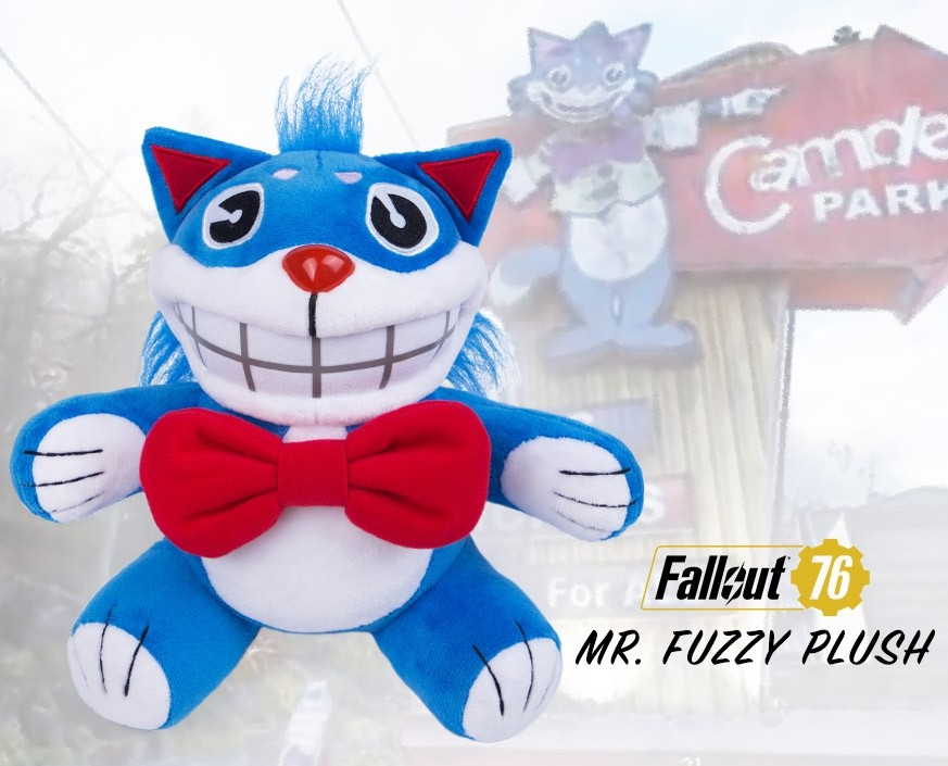 Fallout 76: Mr Fuzzy plush