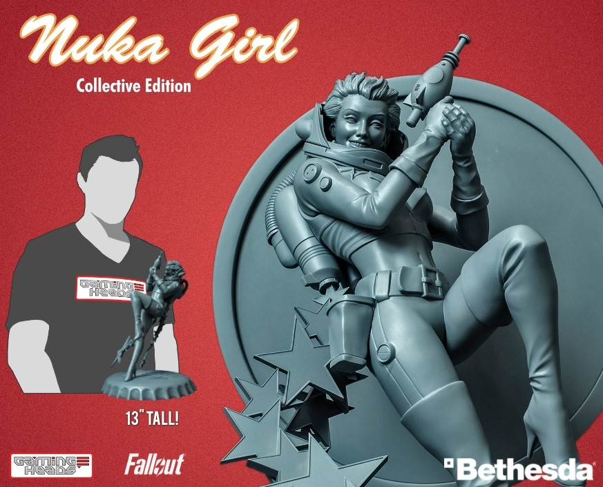 Fallout®: Nuka Girl (collective edition) statue