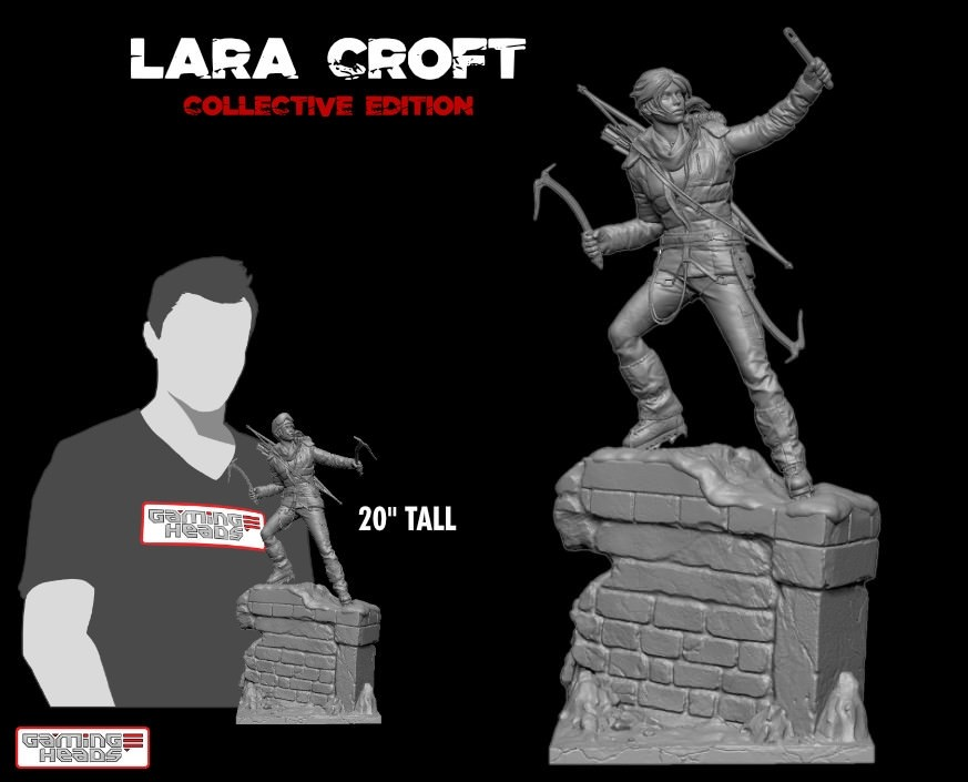 Rise of the Tomb Raider™ - Lara Croft collective edition statue