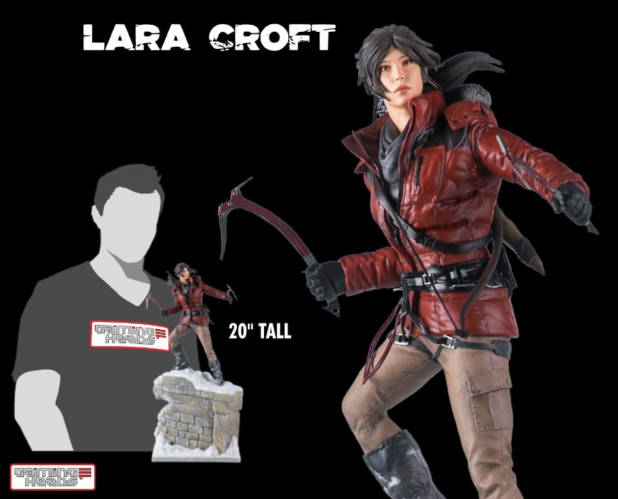 Rise of the Tomb Raider™ - Lara Croft statue