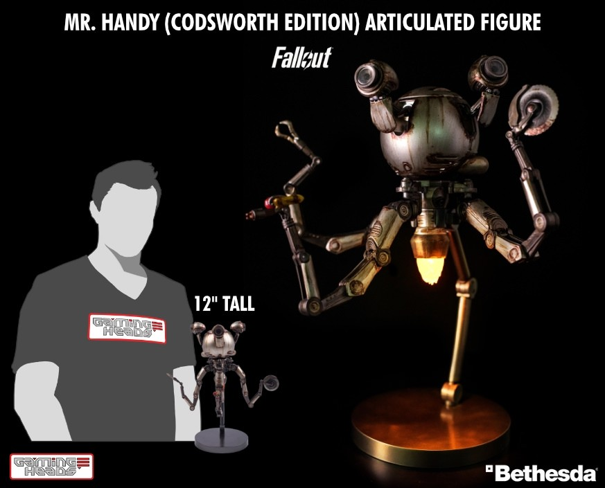 Mr Handy (Codsworth edition) Deluxe Articulated Figure