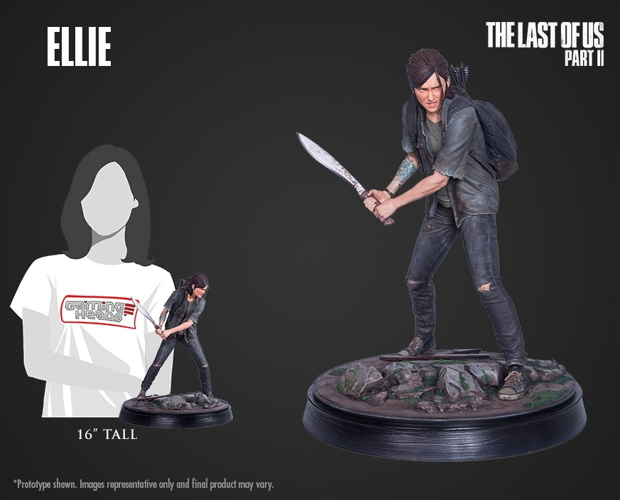 The Last of Us Part II: Ellie statue