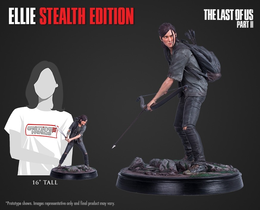 The Last of Us Part II: Ellie Stealth Edition statue