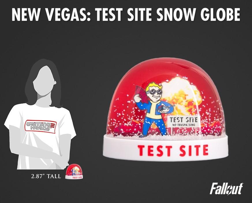 Fallout®: New Vegas - Test Site snow globe
