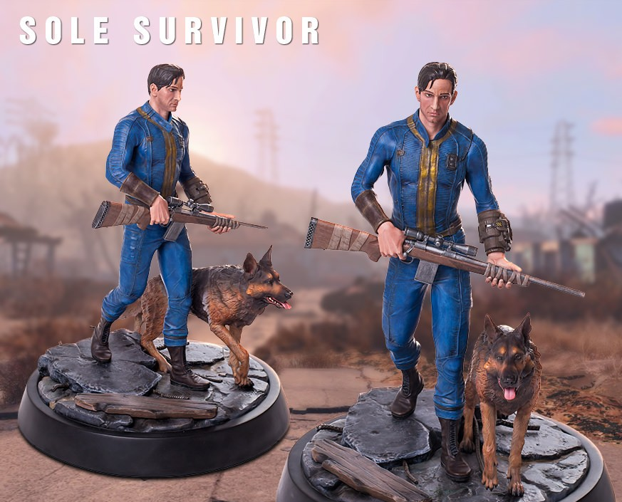 Fallout® 4: Sole Survivor Regular statue