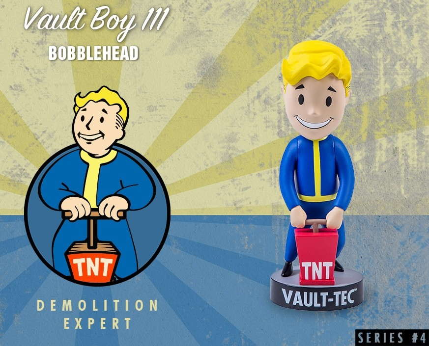 Fallout® 4: Vault Boy 111 Bobbleheads - Series Four: Demolition Expert