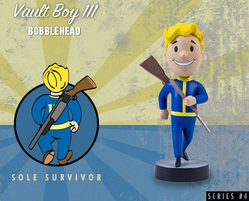 Fallout® 4: Vault Boy 111 Bobbleheads - Series Four: Sole Survivor