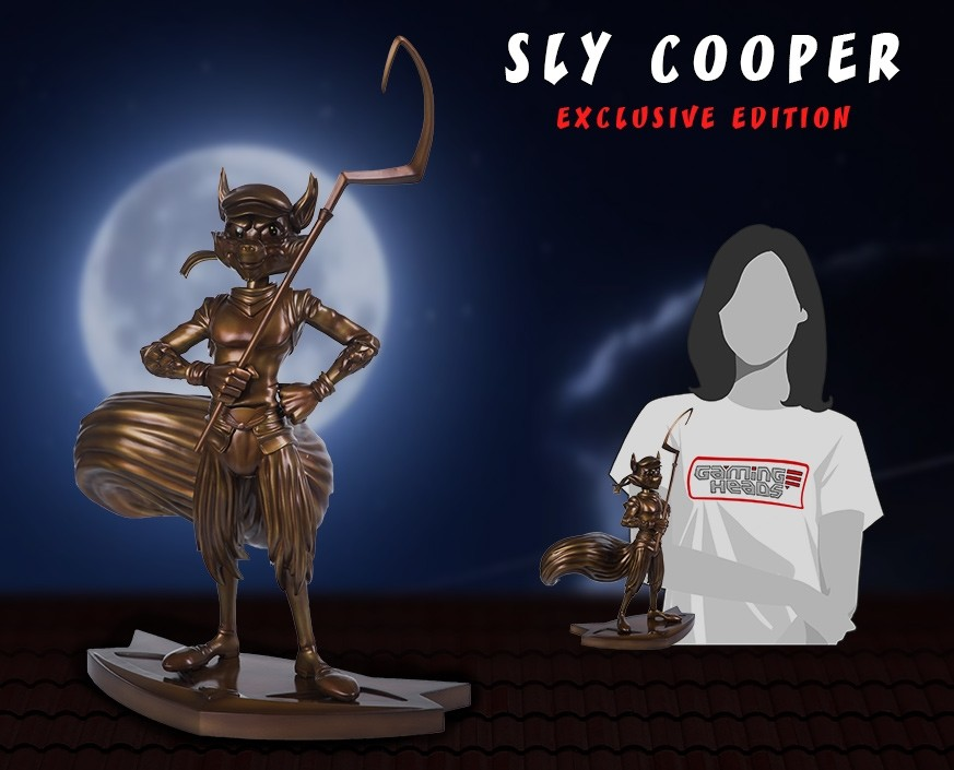 Sly Cooper  Exclusive Edition Statue