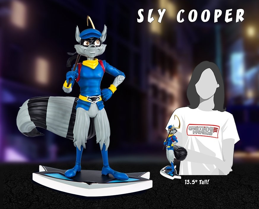 Sly Cooper Classic Edition Statue