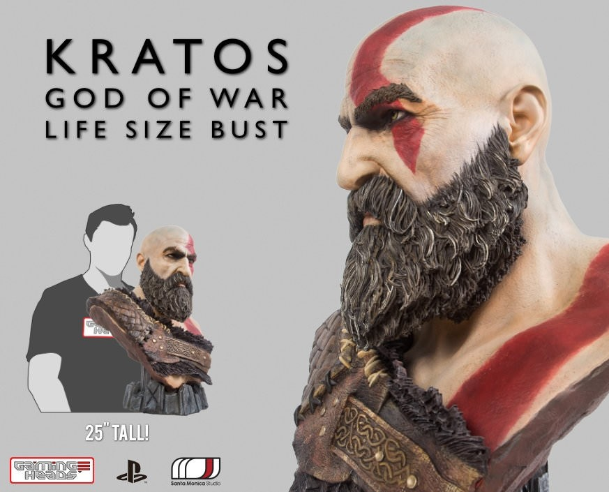 God of War™: Kratos Life Size Bust (Norse)