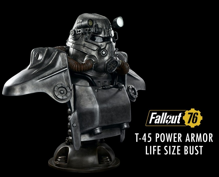 Fallout®: T-45 Power Armor Life Size Bust