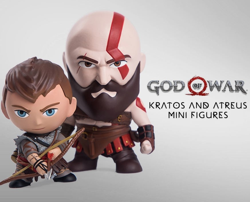 God of War™: Kratos & Atreus Mini Figures