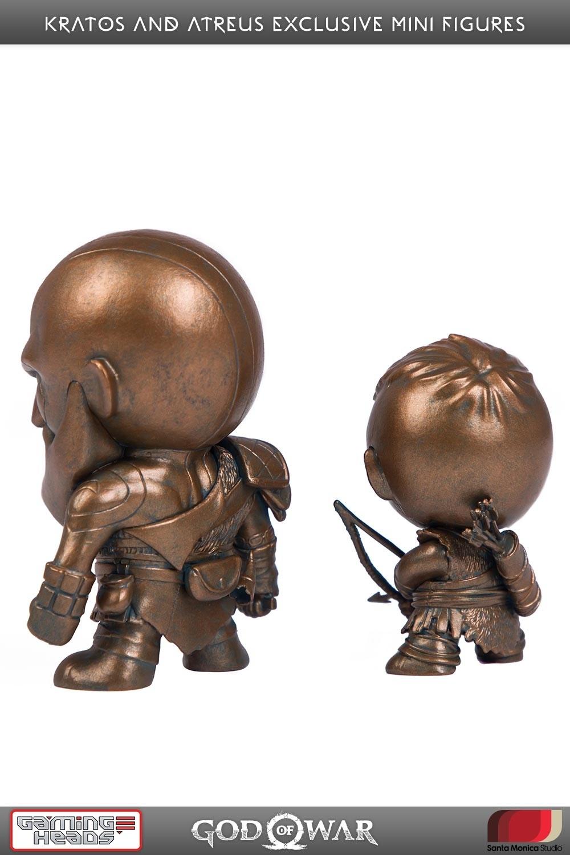 God Of War Kratos  Atreus Exclusive Mini Figures -4473