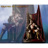 God of War™: Kratos on Throne Statue