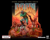 DOOM®: Knee Deep In The Dead Statue