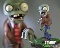 Plants vs. Zombies™: Zombie Poly-Stone Hand-Painted Figurine