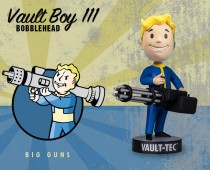 Fallout® 4: Vault Boy 111 Bobbleheads - Series Three: Big Guns