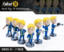 Fallout® 76: Vault Boy 76 Bobbleheads - Series One 7 Pack
