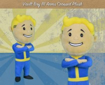 FALLOUT® 4: VAULT BOY 111 ARMS CROSSED PLUSH