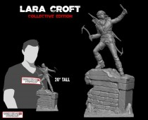 Rise of the Tomb Raider™ - Lara Croft collective edition statue