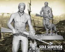 Fallout® 4: Sole Survivor Collective statue