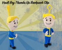 Fallout® 4: Vault Boy 111 Thumbs Up backpack clip