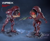 Mass Effect™: Wrex Exclusive statue