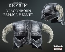 The Elder Scrolls V: Skyrim Dragonborn cosplay helmet