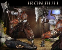 Dragon Age™: Inquisition - Iron Bull Statue