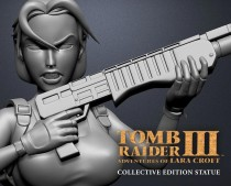 Tomb Raider™ III: Adventures of Lara Croft collective edition statue