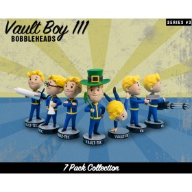 Fallout® 4: Vault Boy 111 Bobbleheads - Series Three 7 Pack