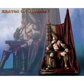 God of War™: Kratos on Throne Statue