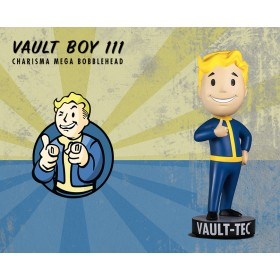 Fallout® 4: Vault Boy 111 Charisma polystone resin Mega Bobblehead