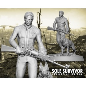 Fallout® 4: Sole Survivor Collective statue