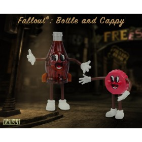 Fallout®: Bottle and Cappy bendables