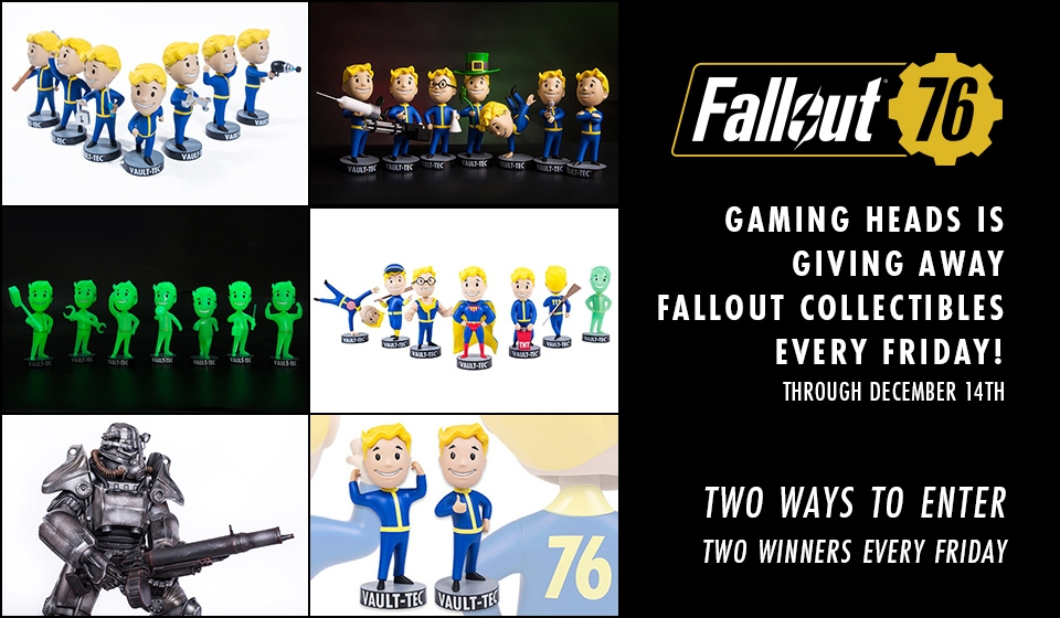 Fallout Weekly Giveaway